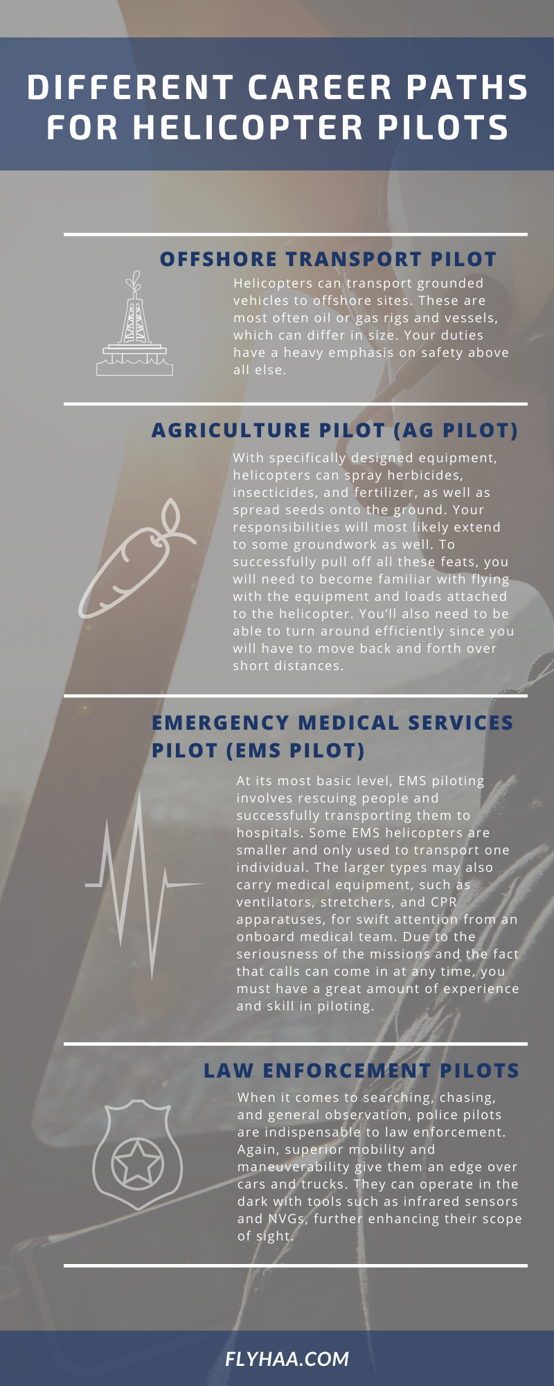 Career Paths for Helicopter Pilots