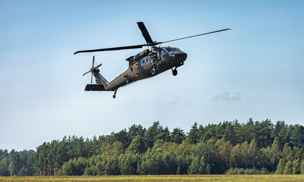 The Different Types of Military Helicopters